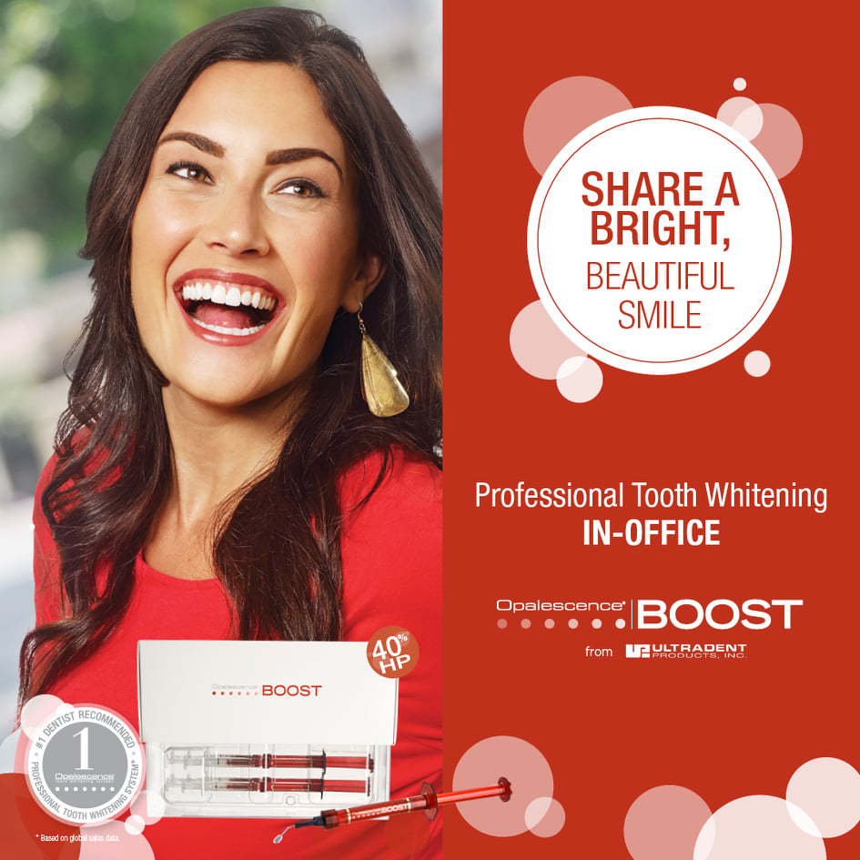 New Patient Whitening Kit Promo - New patients get a free teeth whitening kit